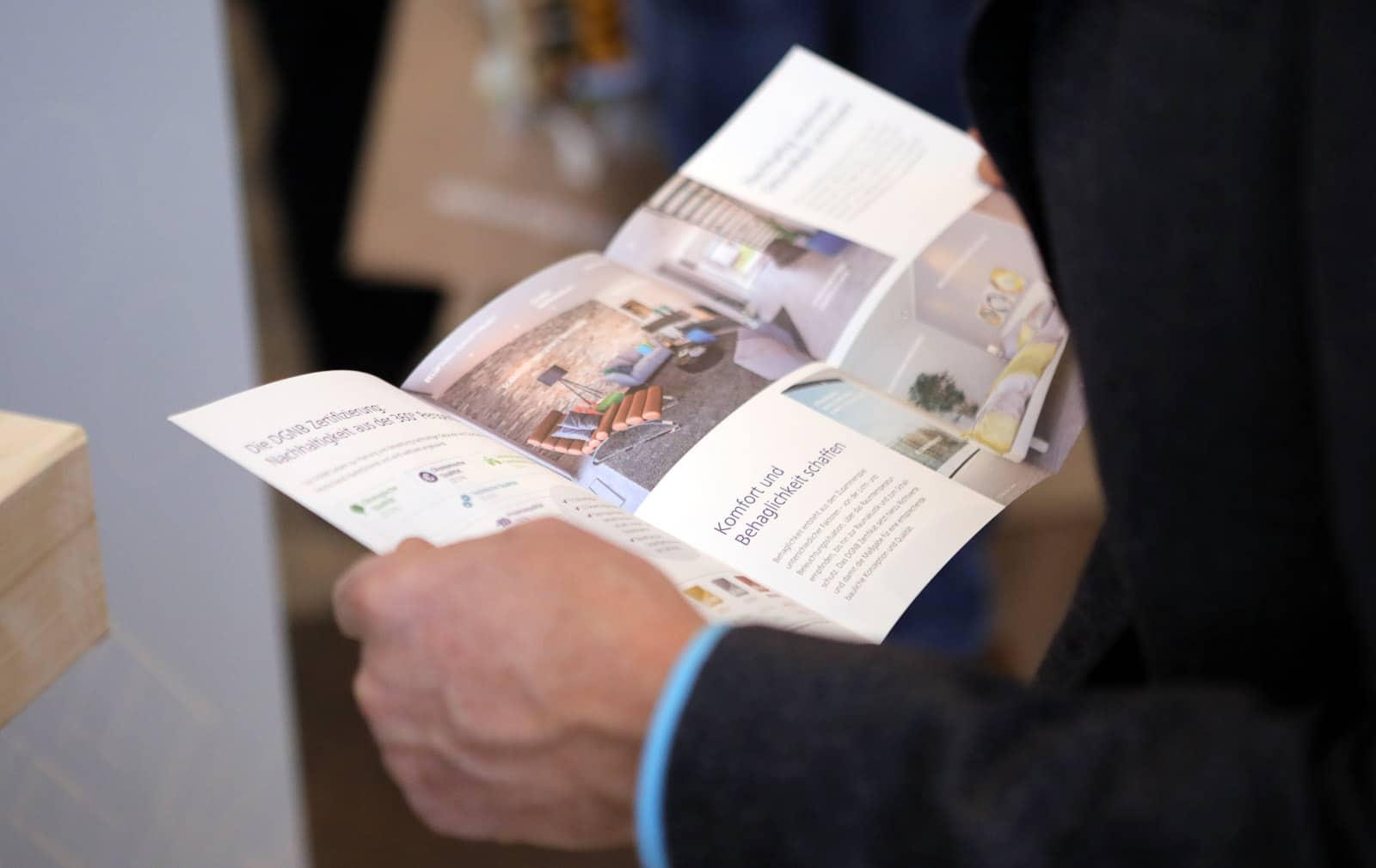 Veranstaltungsfotograf Berlin Messe Event Deutscher Nachhaltigkeitspreis Duesseldorf 2017 DGNB Flyer