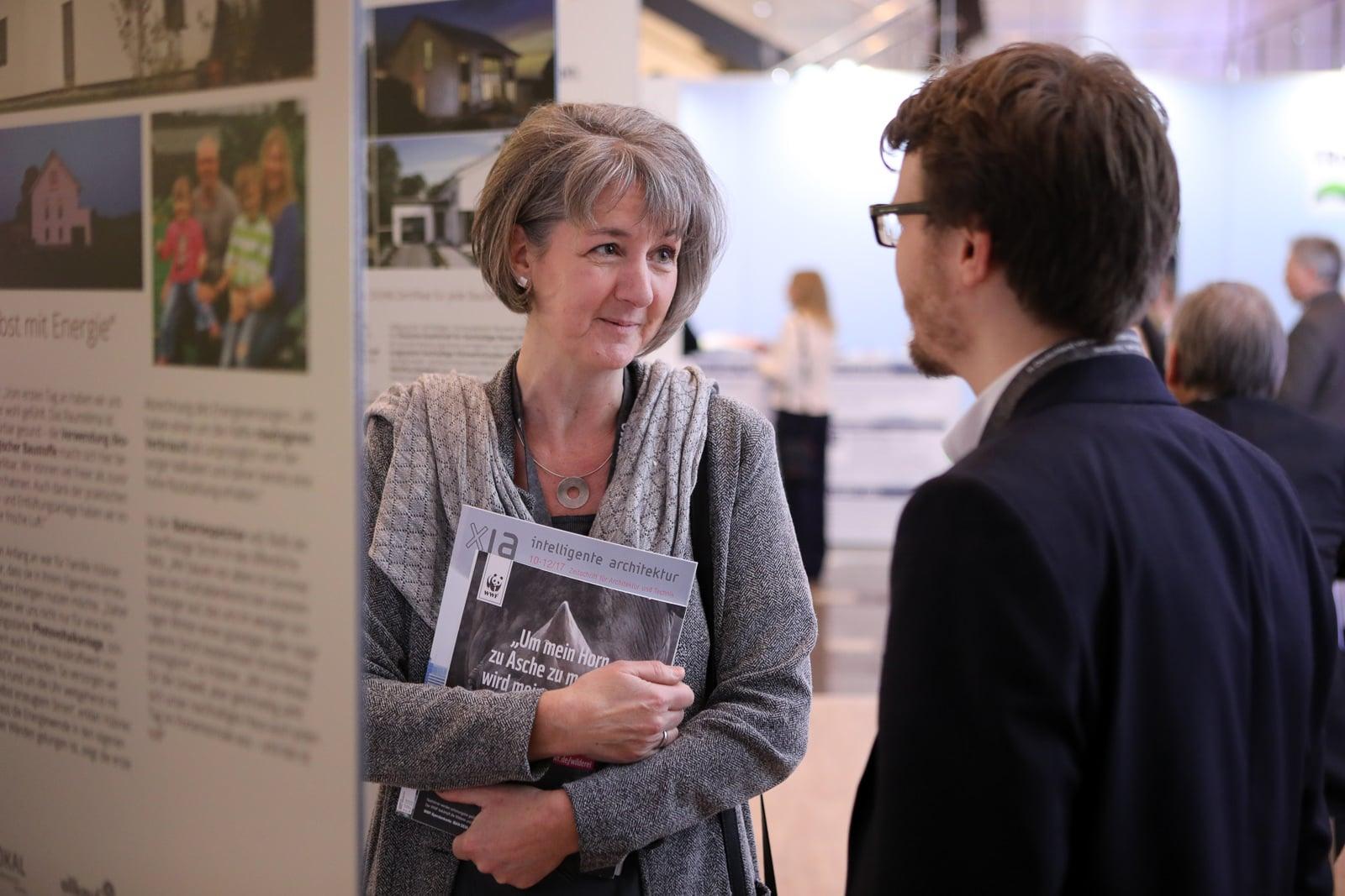 Veranstaltungsfotograf Berlin Messe Event Deutscher Nachhaltigkeitspreis Duesseldorf 2017 DGNB Messegespraech