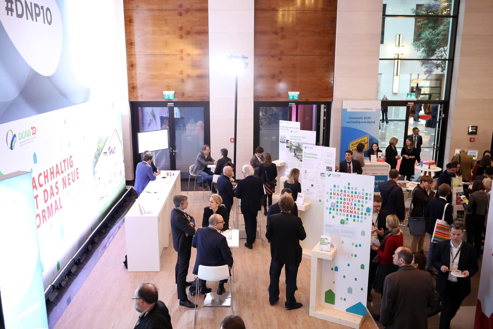 Veranstaltungsfotograf Berlin Messe Event Deutscher Nachhaltigkeitspreis Duesseldorf 2017 DGNB Messestand
