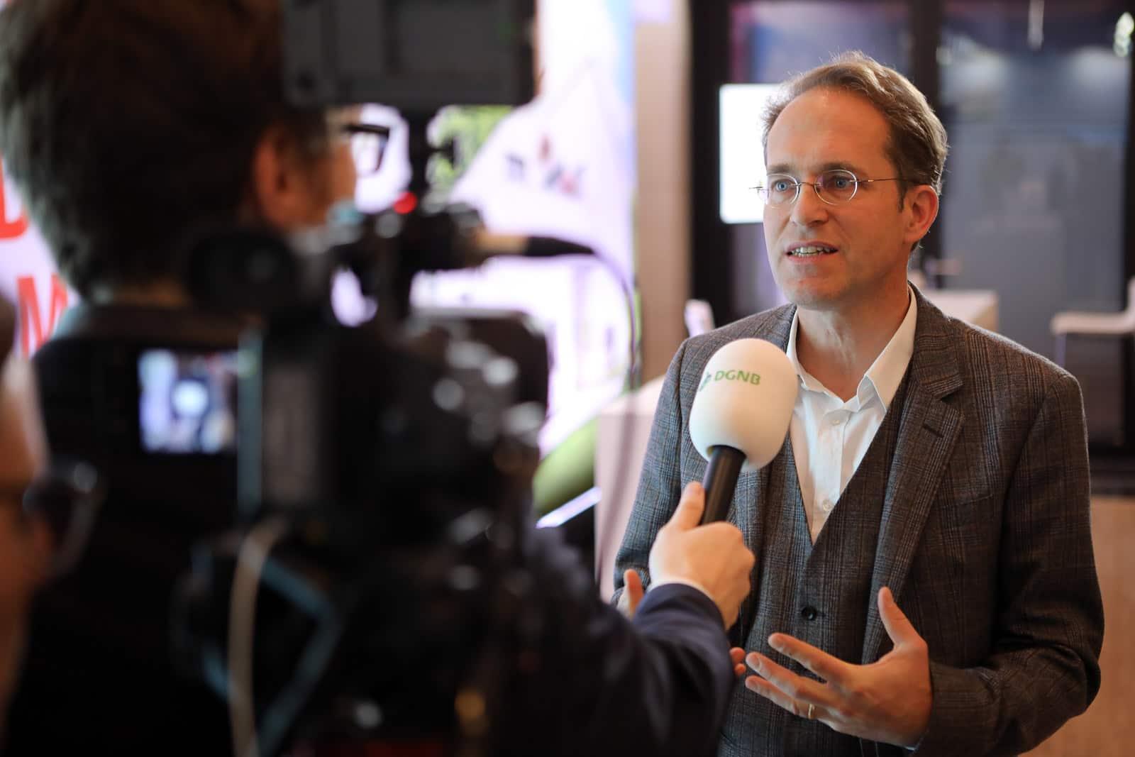 Veranstaltungsfotograf Berlin Messe Event Deutscher Nachhaltigkeitspreis Düsseldorf 2017 DGNB Interview