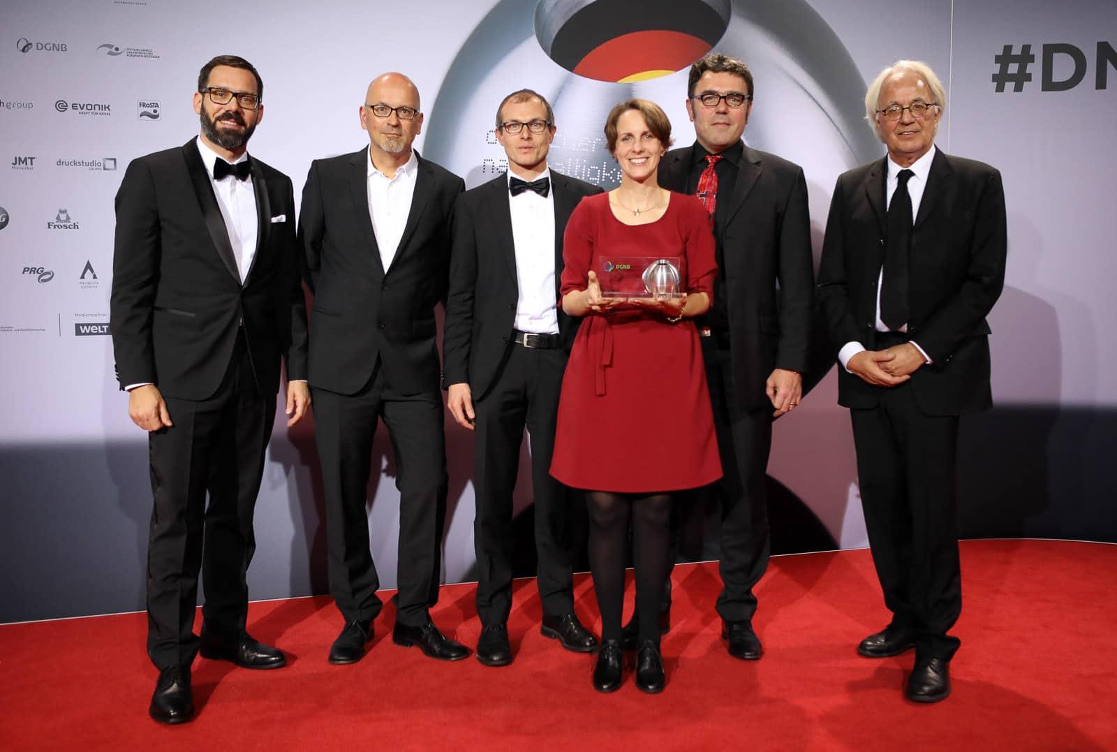 Veranstaltungsfotograf Berlin Messe Event Deutscher Nachhaltigkeitspreis Düsseldorf 2017 DNP DGNB Gewinner
